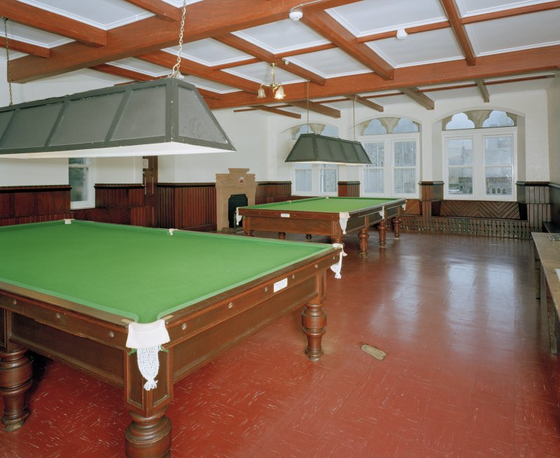 View of Old School billiard room from North West