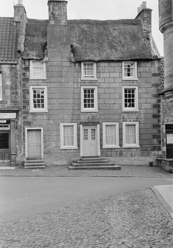 View of front elevation of Cameron House, High Street, Falkland