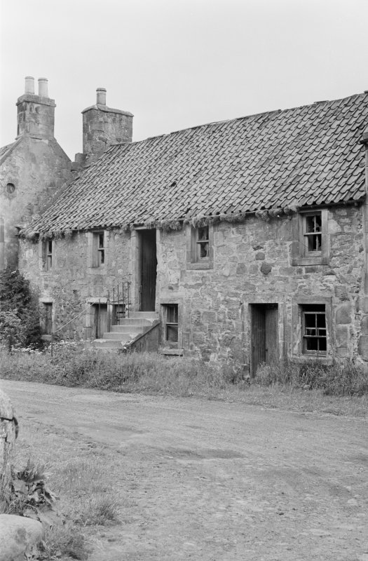 View of cottage in Balmblae, Falkland