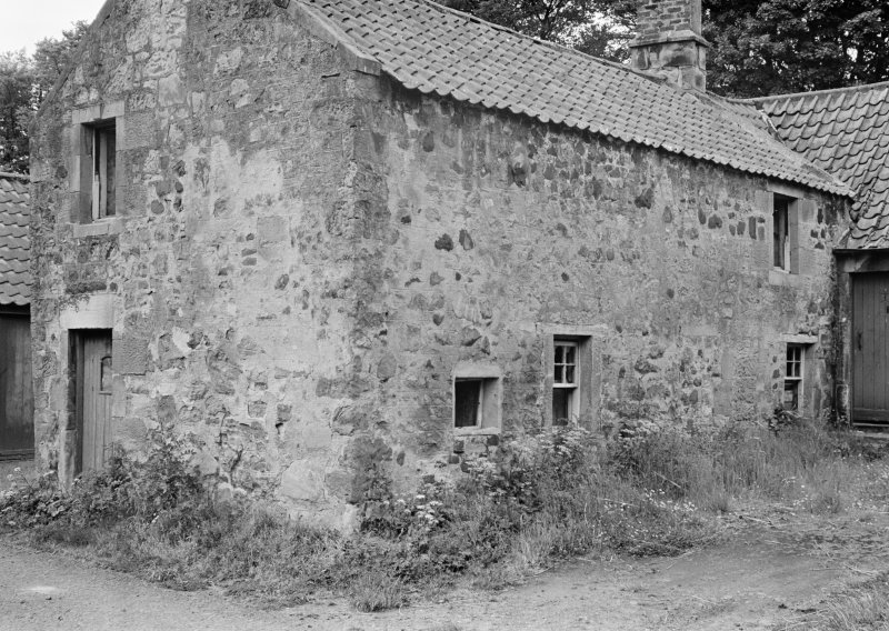 View of building in Balmblae, Falkland