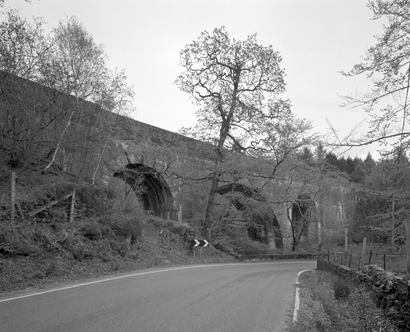 Larichmore Viaduct General view of viaduct from W