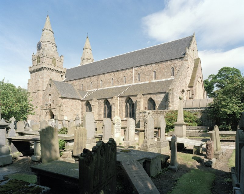 Aberdeen, Chanonry, St Machar's Cathedral. General view from south east.