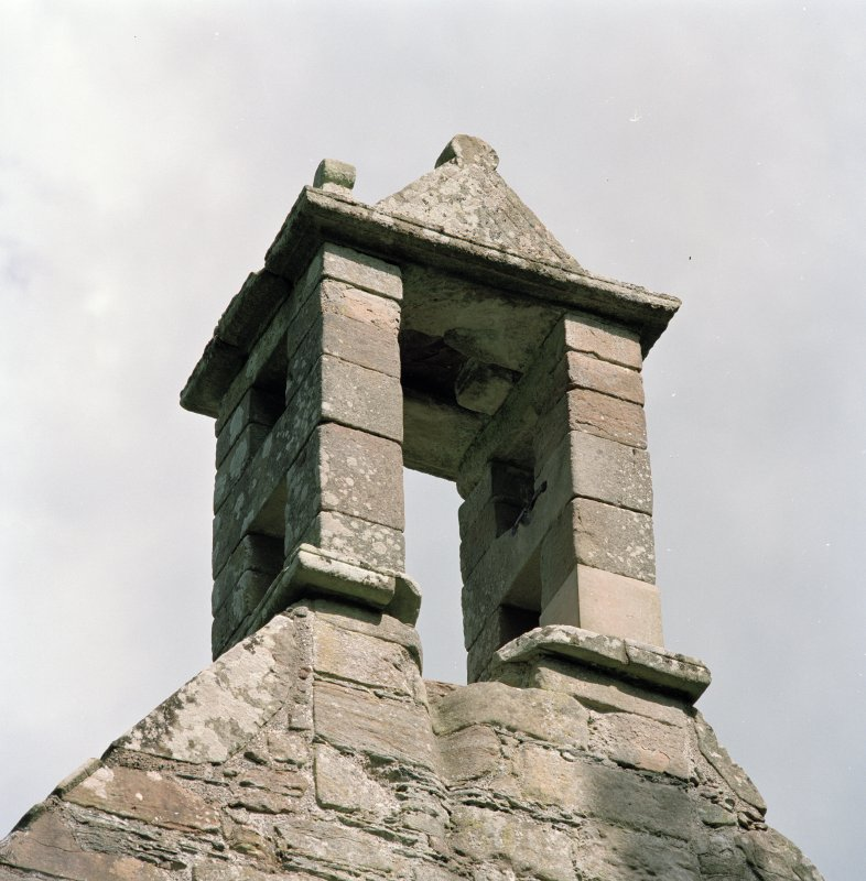 Detail of bellcote from North West.