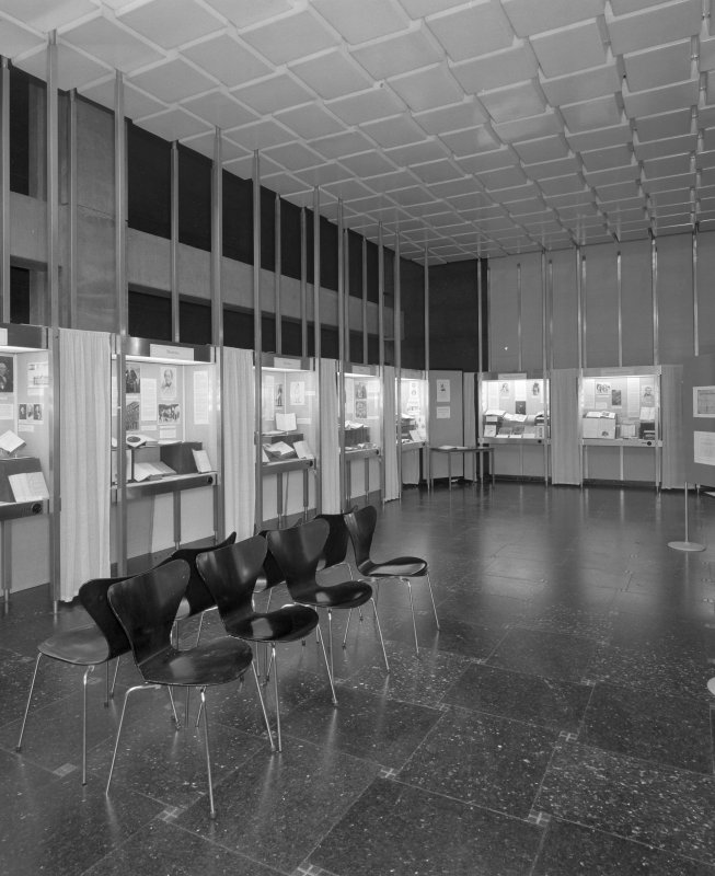Interior. Ground floor exhibition room