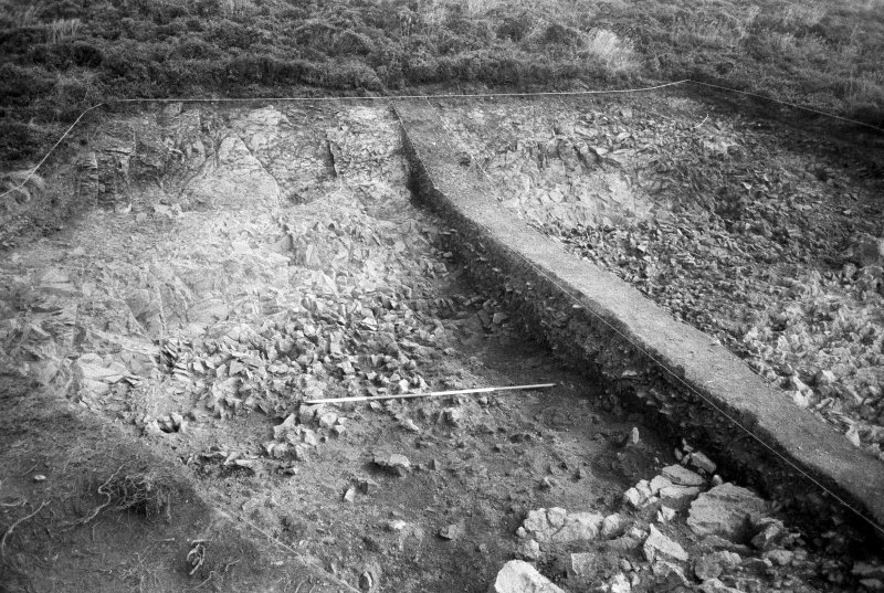 Excavation photograph : area II - overall view, looking east.