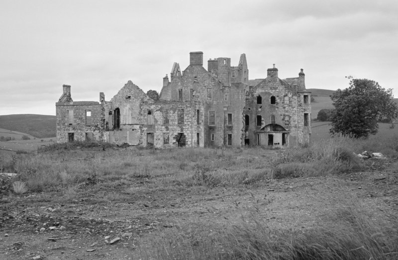 View of Rothiemay Castle