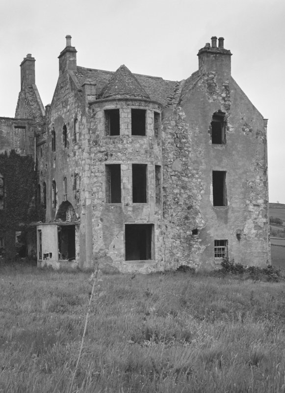 View of Rothiemay Castle from west