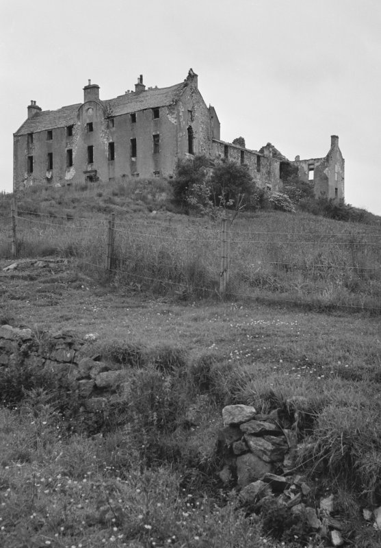 View of Rothiemay Castle from east south-east