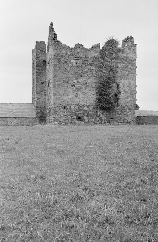 General view of Eden Castle from east