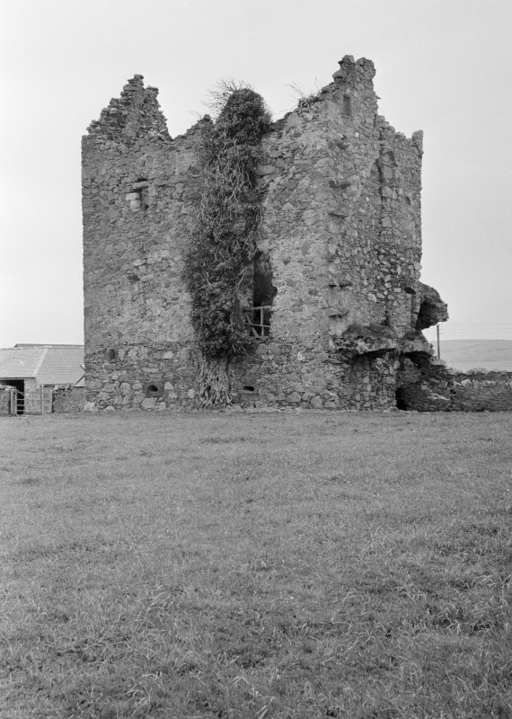 General view of Eden Castle from north east