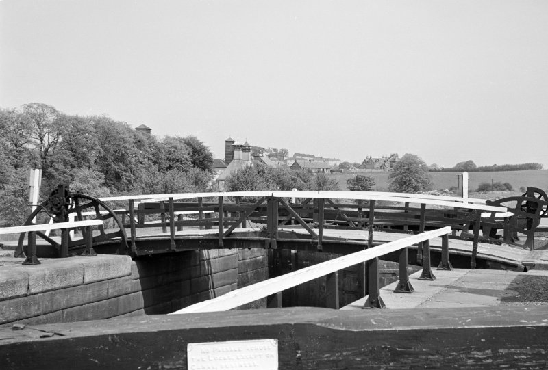 View of Wyndford Lock, Forth and Clyde Canal