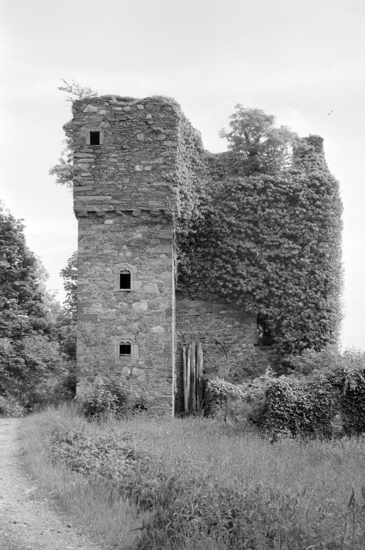 View of Barholm Castle from south west.