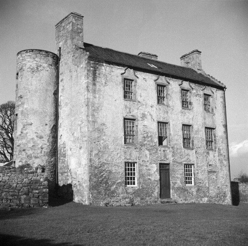 View of Woolmet House showing south elevation wing.