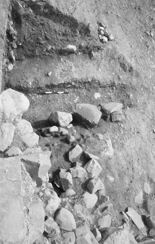 Jedburgh Abbey excavation archive Frame 19: Area 1: unidentified.