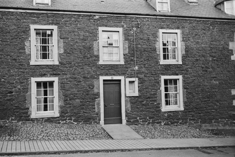 View of 62 Castle Street, Duns, from west