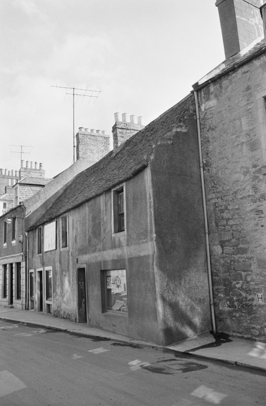 View of 9 and 11 South Street, Duns, from north