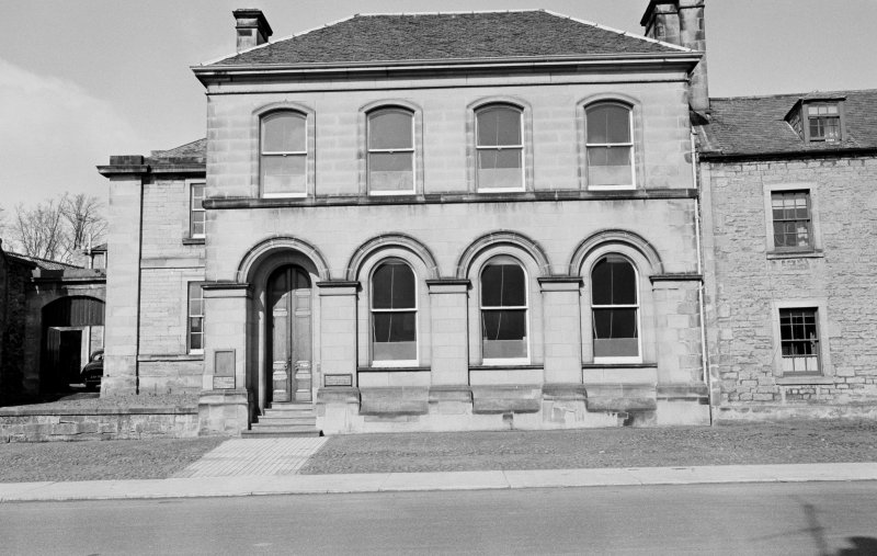 View of County Welfare Office and Treasurer's Department, 24 Newtown Street, Duns.