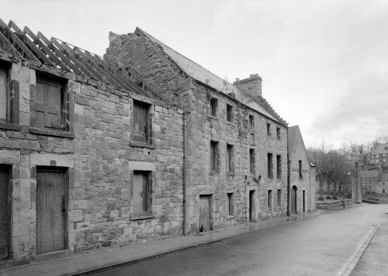 View of 36 Canongate, Jedburgh, from south west.