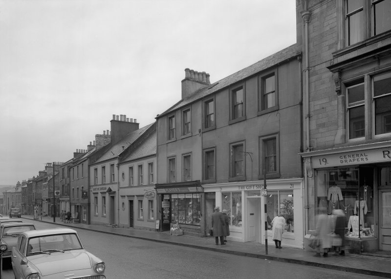 View of 31-19 High Street, Jedburgh from south west