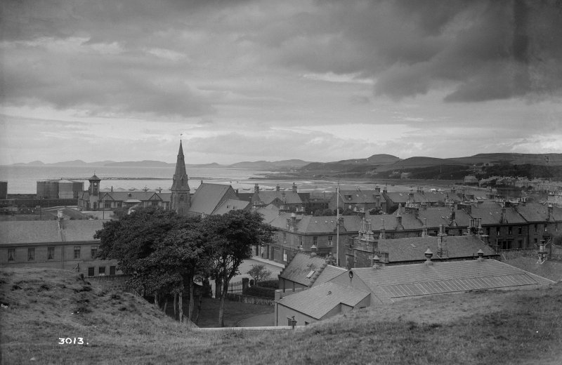 General view of Ardrossan.