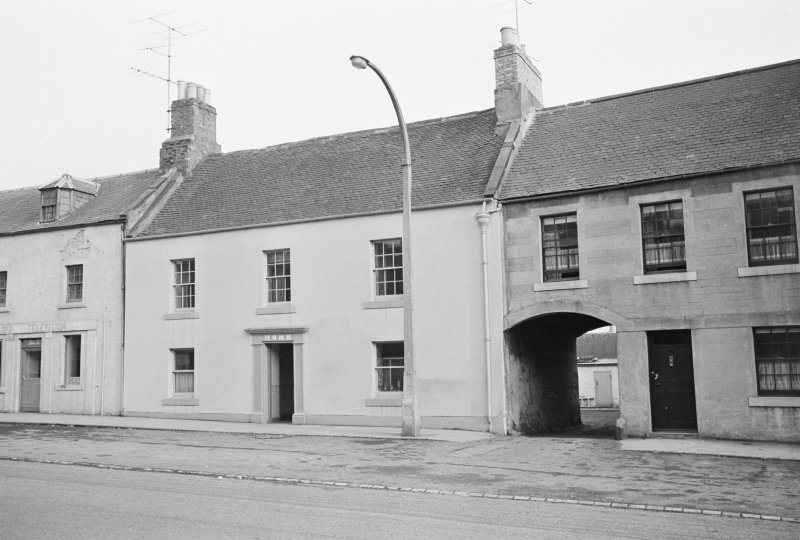 View from north west of 29 Newtown Street, Duns.