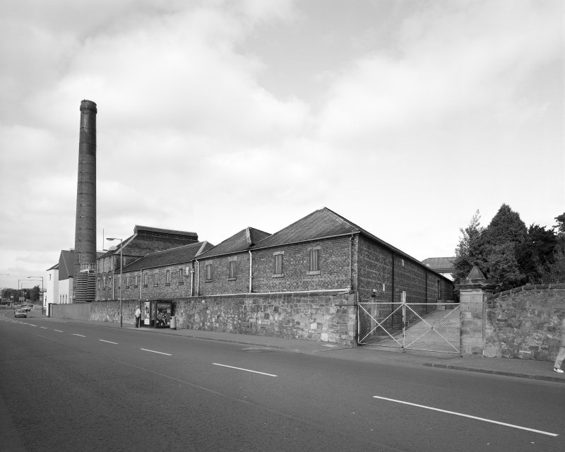 General view of distillery from S.