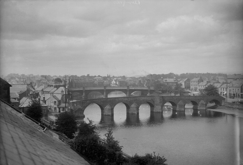 View of bridges in Dumfries