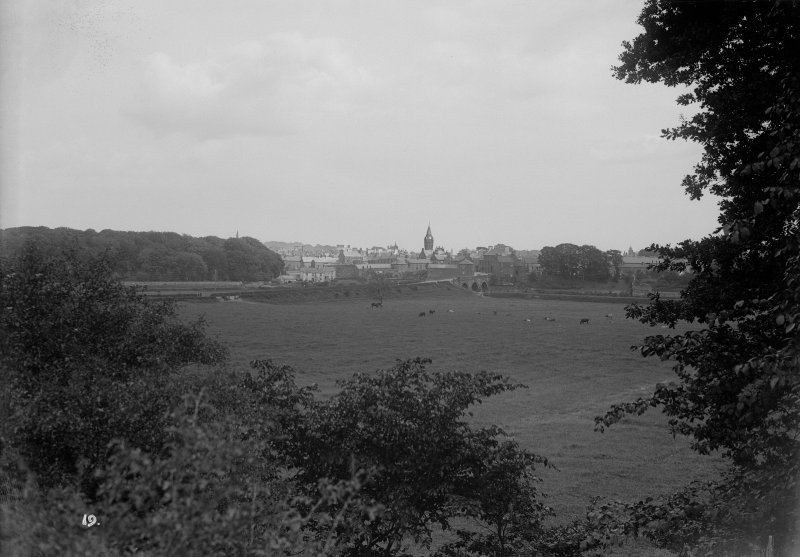 Distant view of Annan