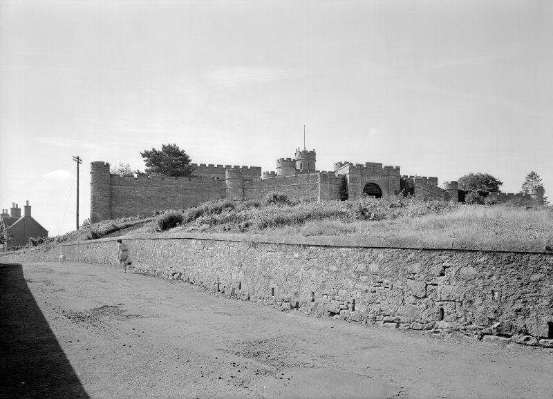 General view of Jedburgh Castle Jail.
