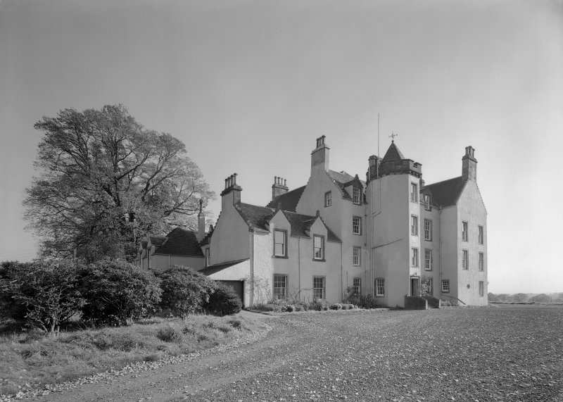 View of Auchenbowie House from NW.