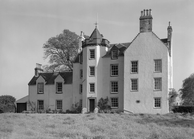 View of west elevation, Auchenbowie House.