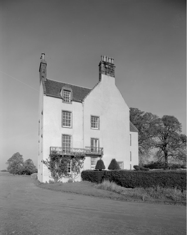 View of south elevation, Auchenbowie House.