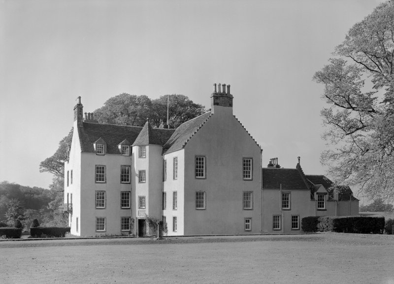View of east elevation, Auchenbowie House.