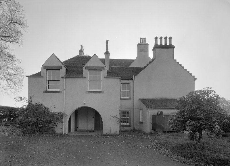 View of north elevation, Auchenbowie House.
