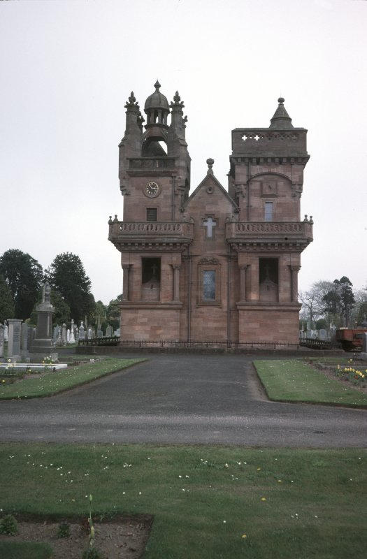 View of Mortuary Chapel, Arbroath Western cemetery.