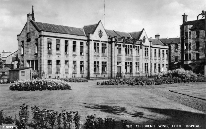 Edinburgh, 10 Mill Lane, Leith Hospital. General view of Children's Wing.