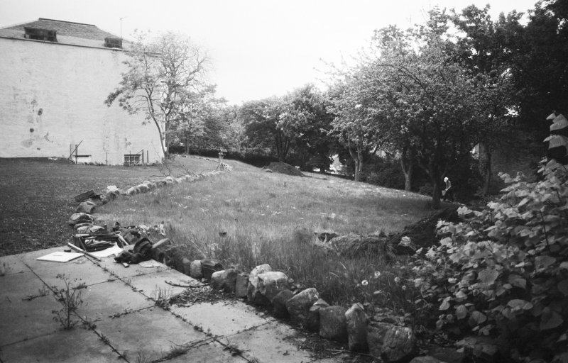 Excavation photograph : general view across site, looking east.