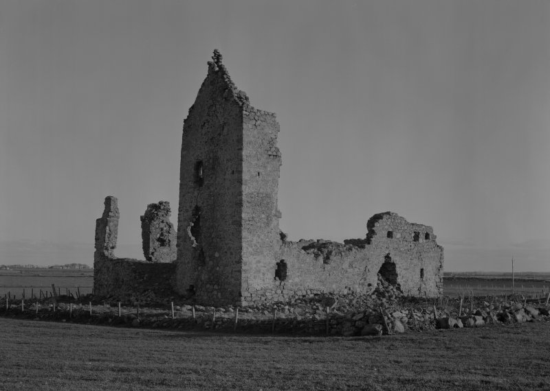 General view of Inverallochy Castle.