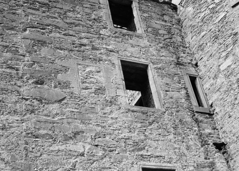 Detail of windows, Ravenstone Castle.