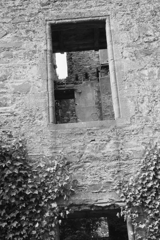 Detail of window, Ravenstone Castle.