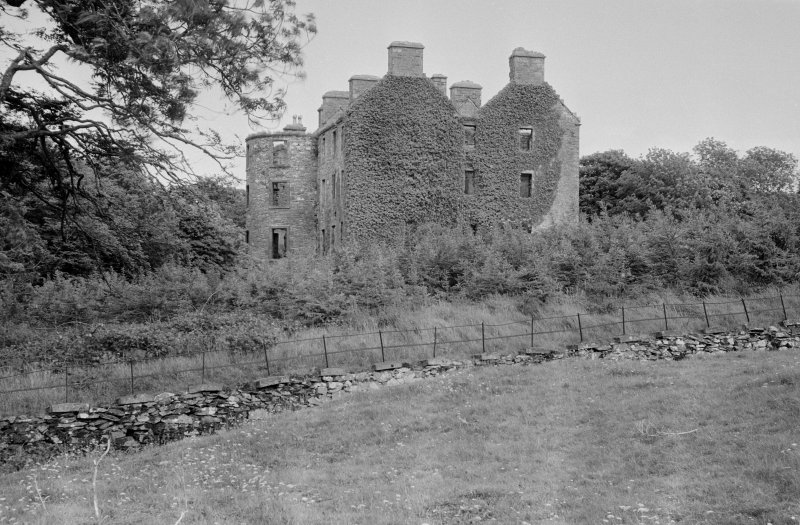 View of Ravenstone Castle from W.