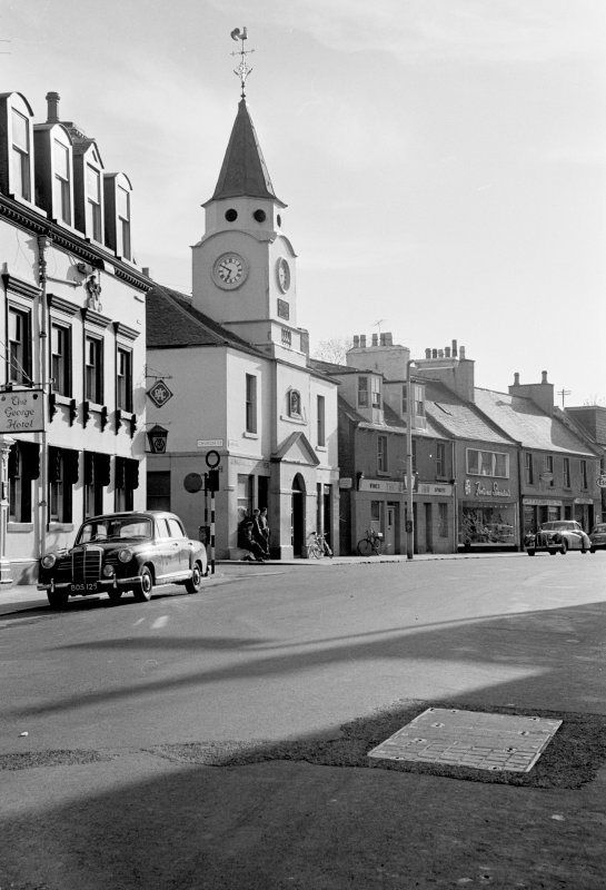 View of Old Town Hall, Stranraer, from north east.