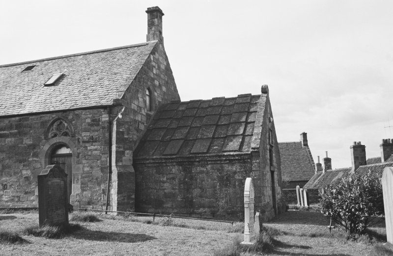 View of Cockburnspath Parish Church from S.