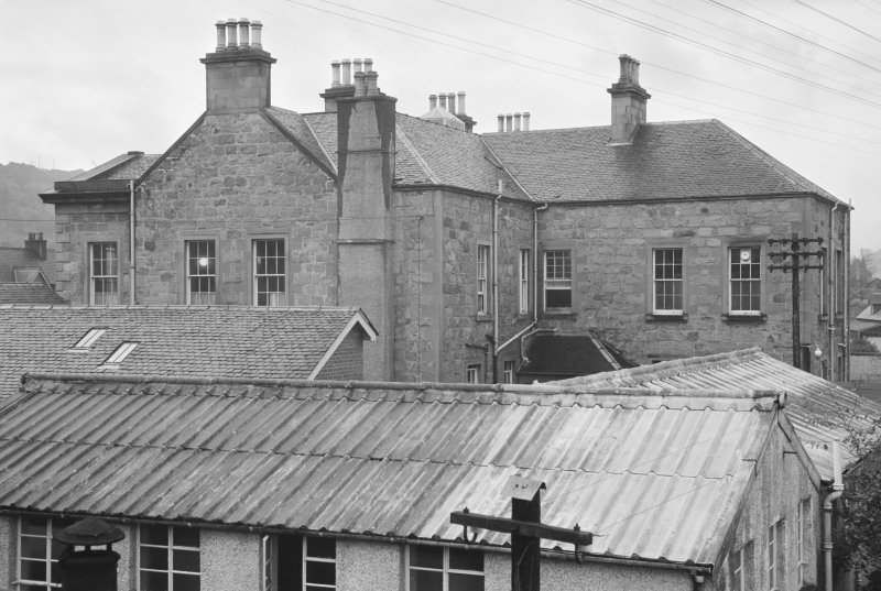 View of rear of Belford Hospital, Fort William.