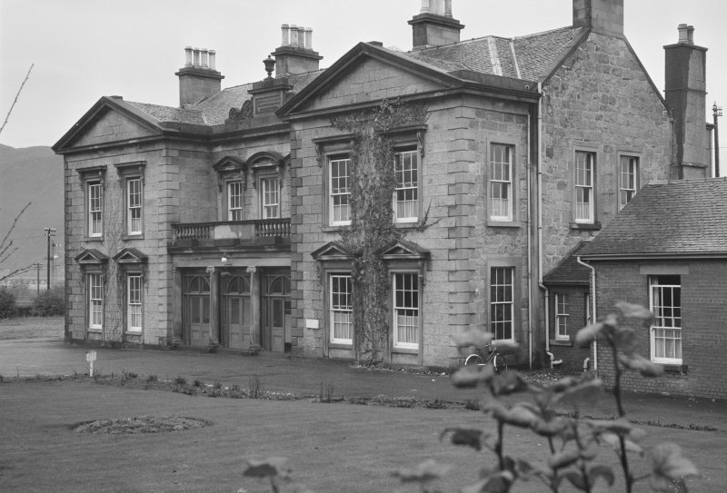 View of south elevation of Belford Hospital, Fort William.