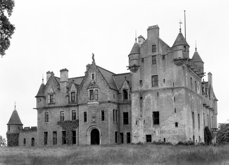 View of Udny Castle from south west.