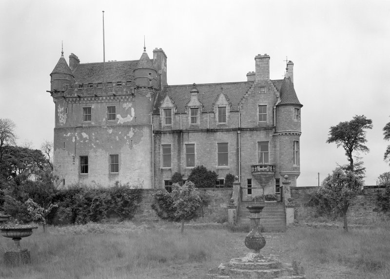 View of Udny Castle showing south elevation.