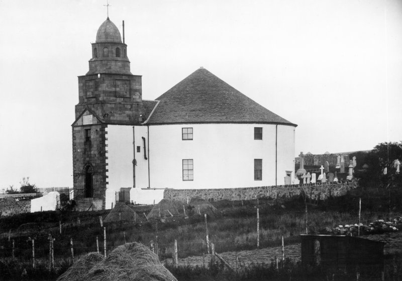 Kilarrow Parish Church, Bowmore. View from South West.