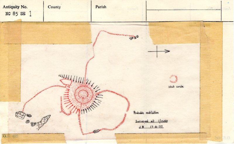 Plan, copied from '495' card