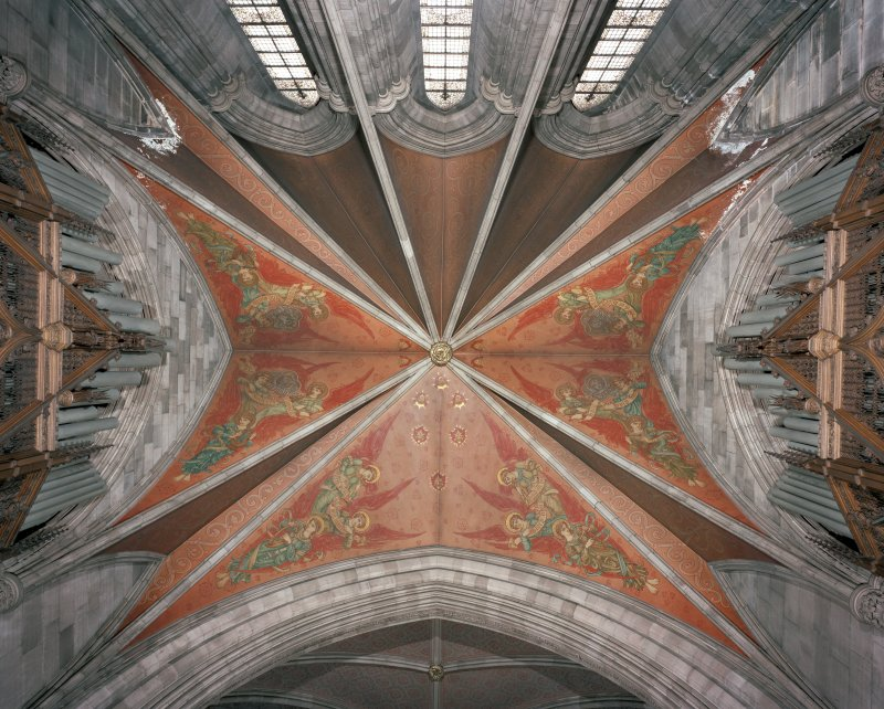 Interior-detail of Chancel ceiling